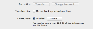 Parallels Backup Options